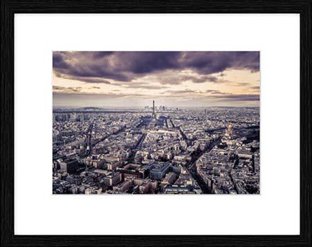 Kunstdruck, Poster, Leinwand: Paris