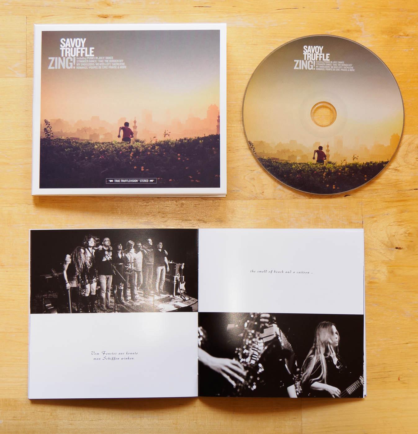 Savoy Truffle – Zing! (Digisleeve, CD, Bookletseiten)