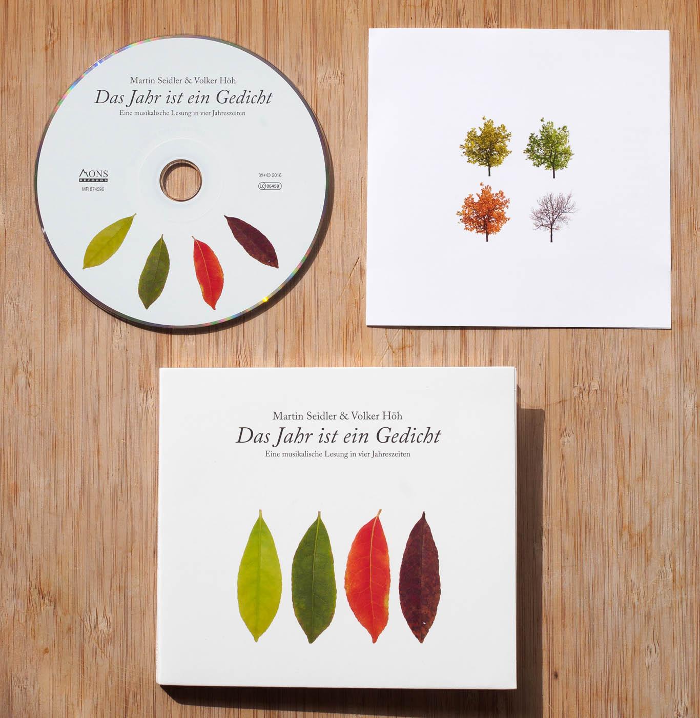 Das Jahr ist ein Gedicht (CD, Booklet & Digipak)