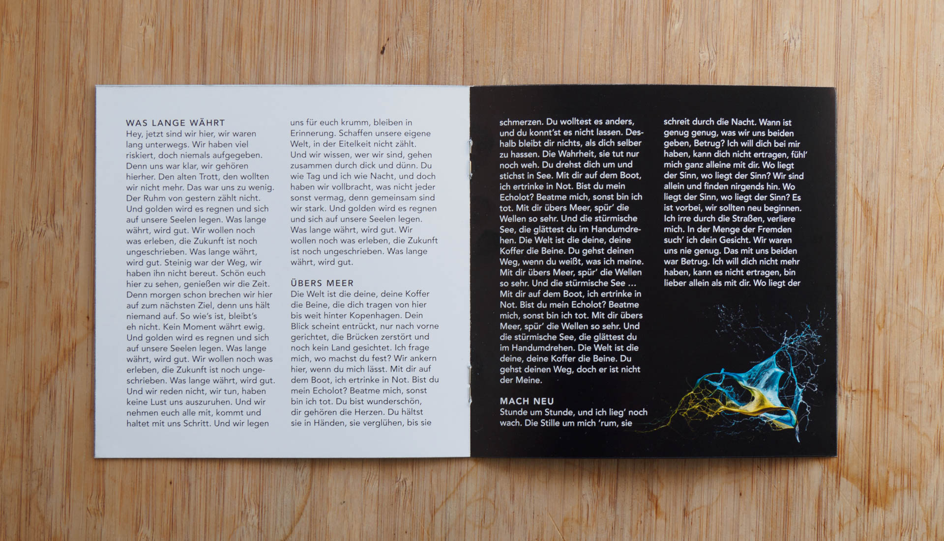 Stereokai (Bookletseiten)