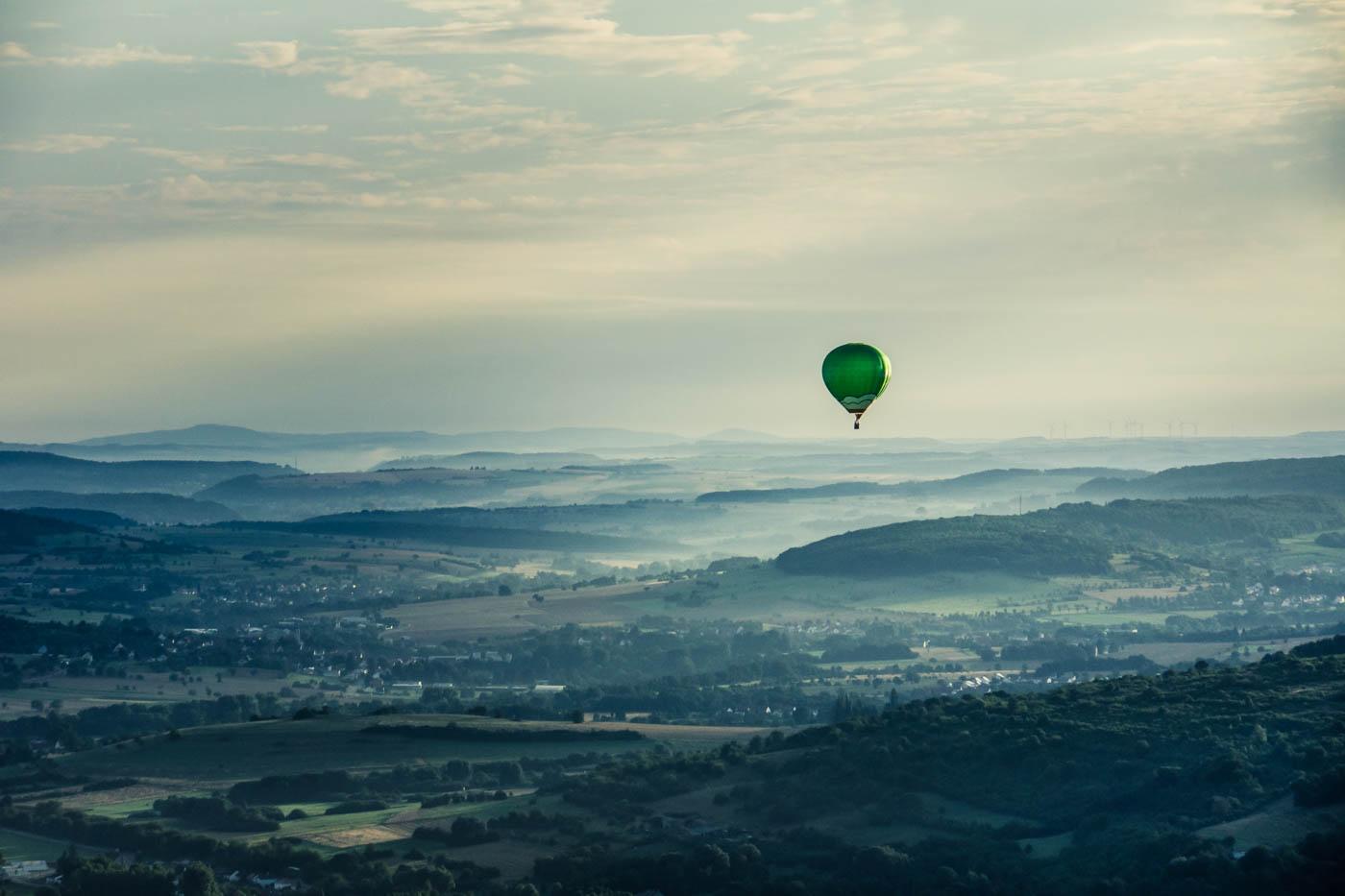 Ballon fahren
