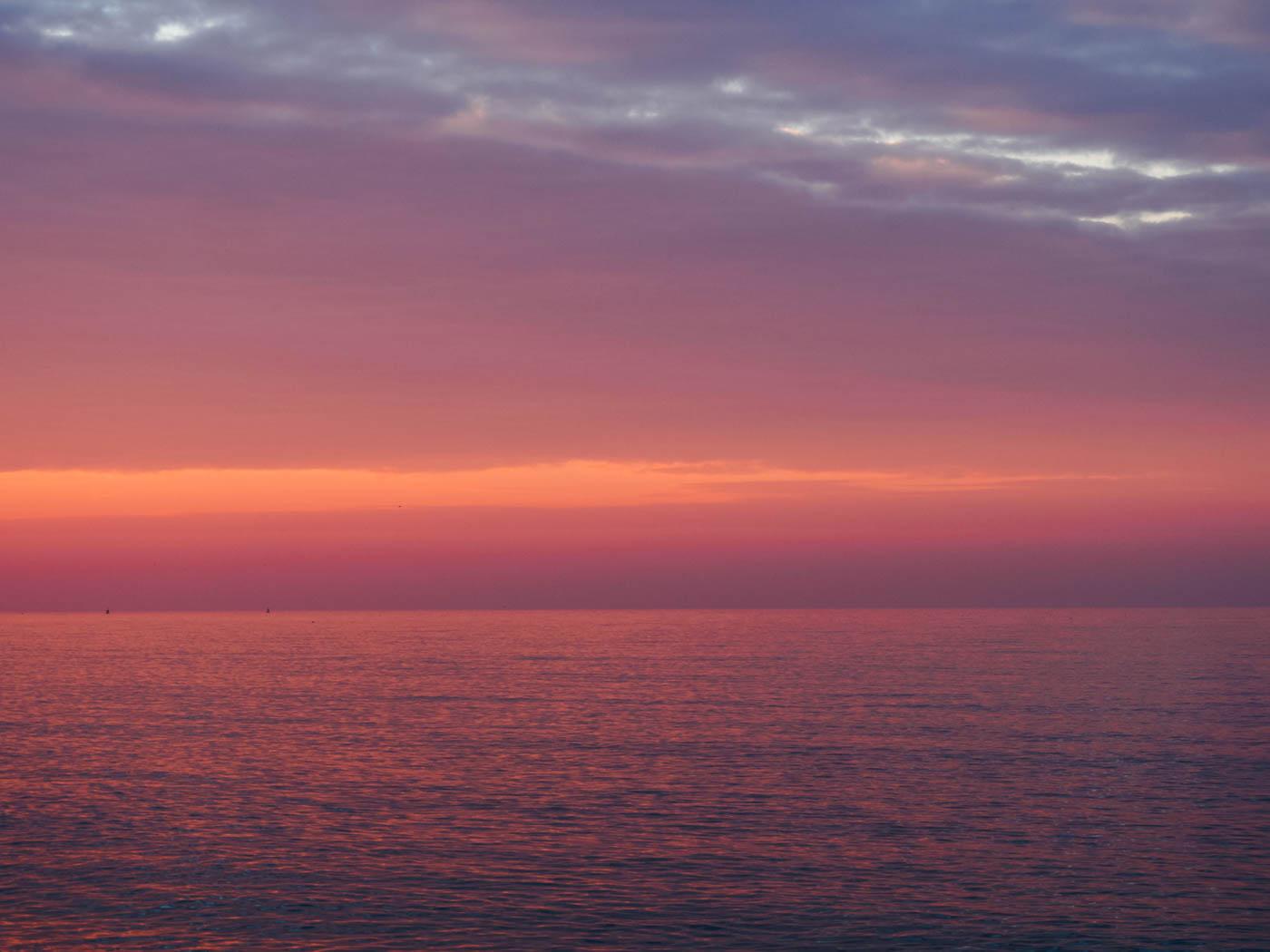 North Sea in December