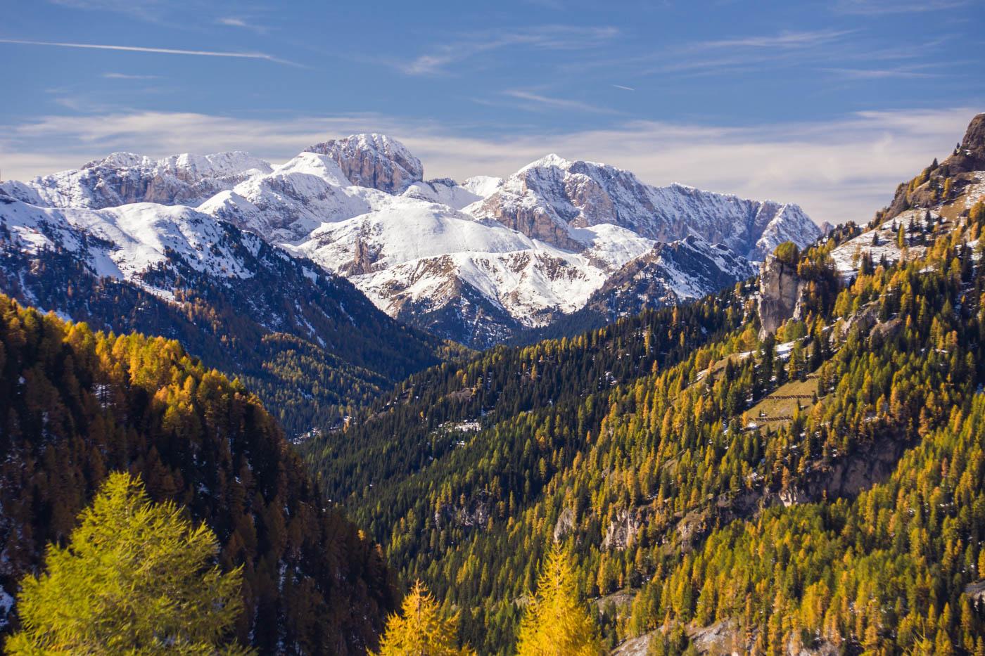 Dolomites: Passo Fedaia