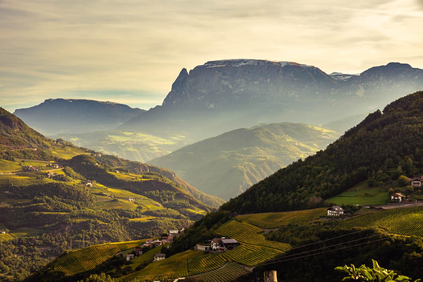 Bozen: Schlern - Bolzano: Sciliar