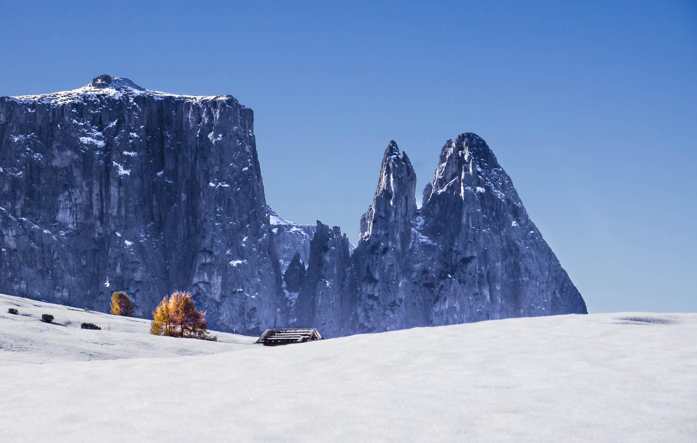 Dolomiten Winter Seiser Alm