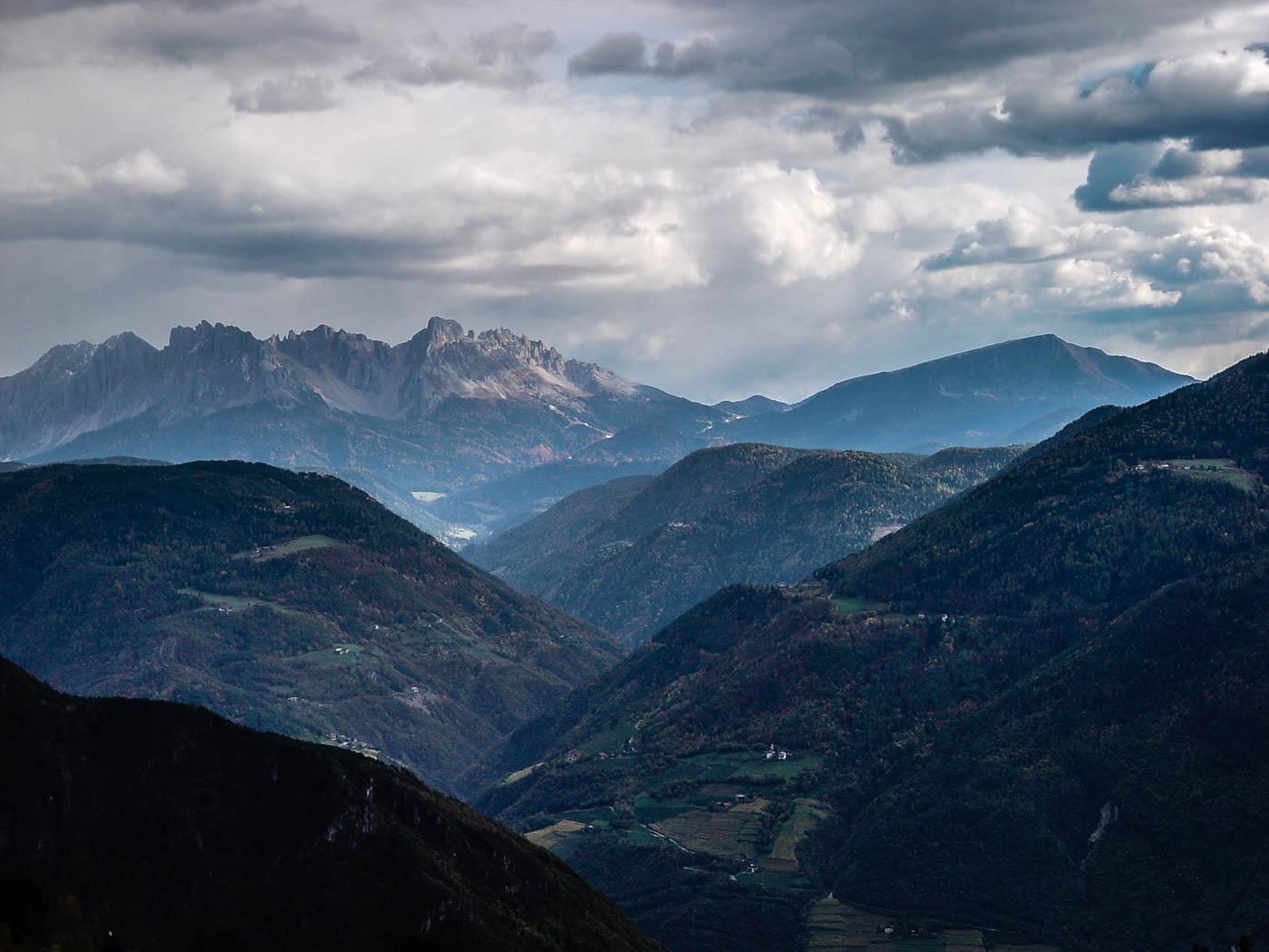 Dolomiti – Latemar from Jenesien