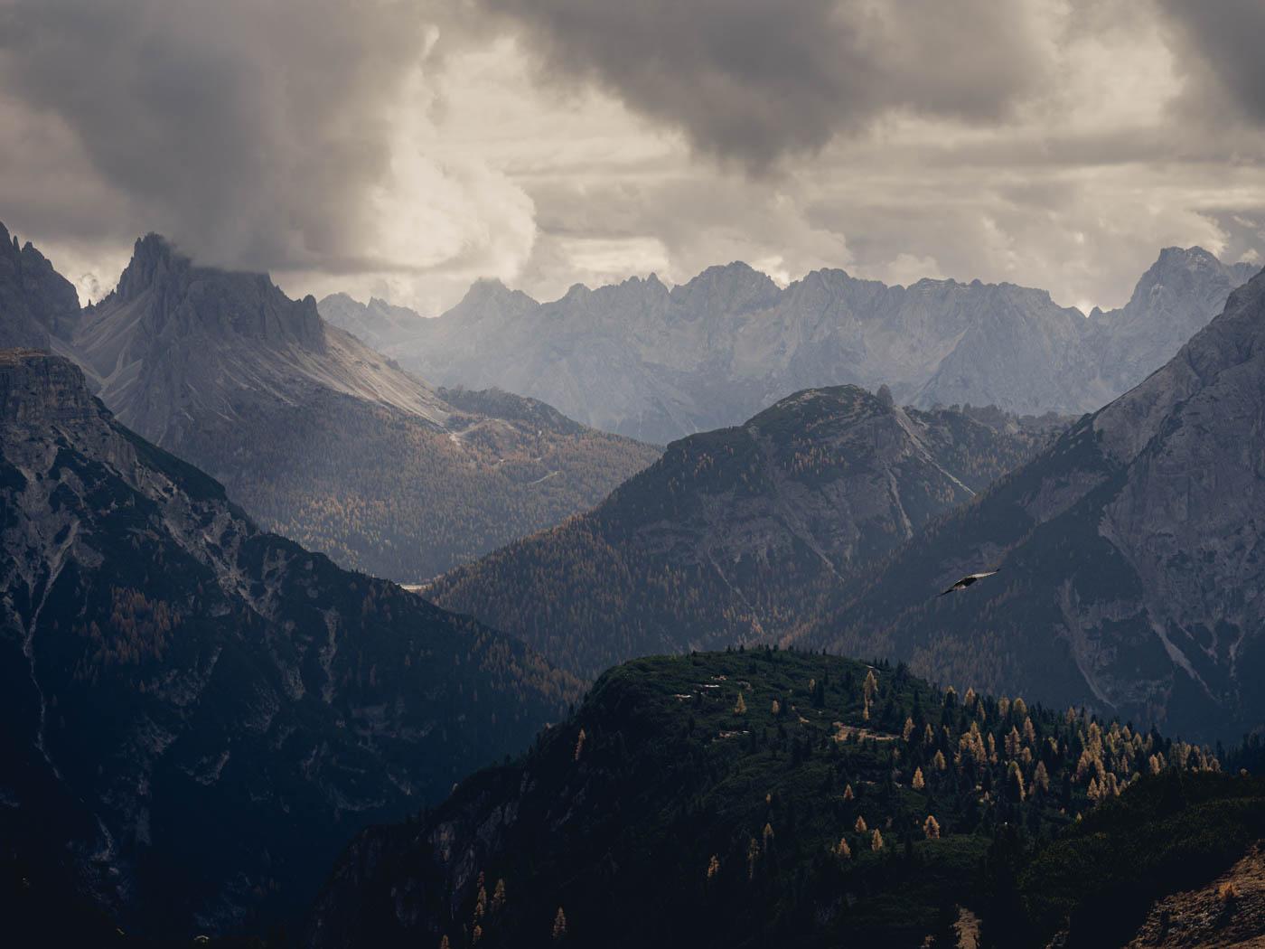 Düstere Berge