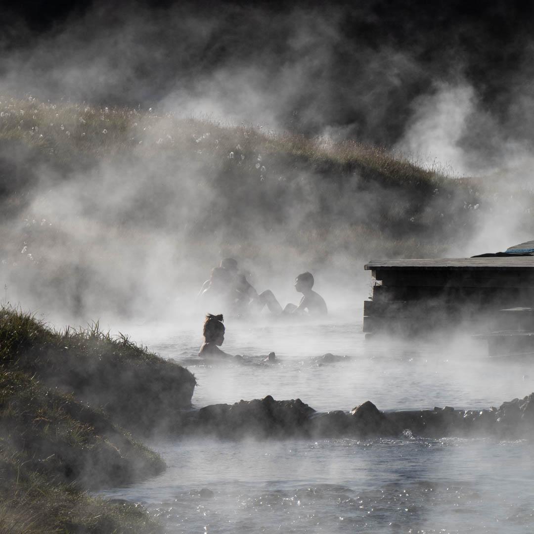 Iceland – hot spring