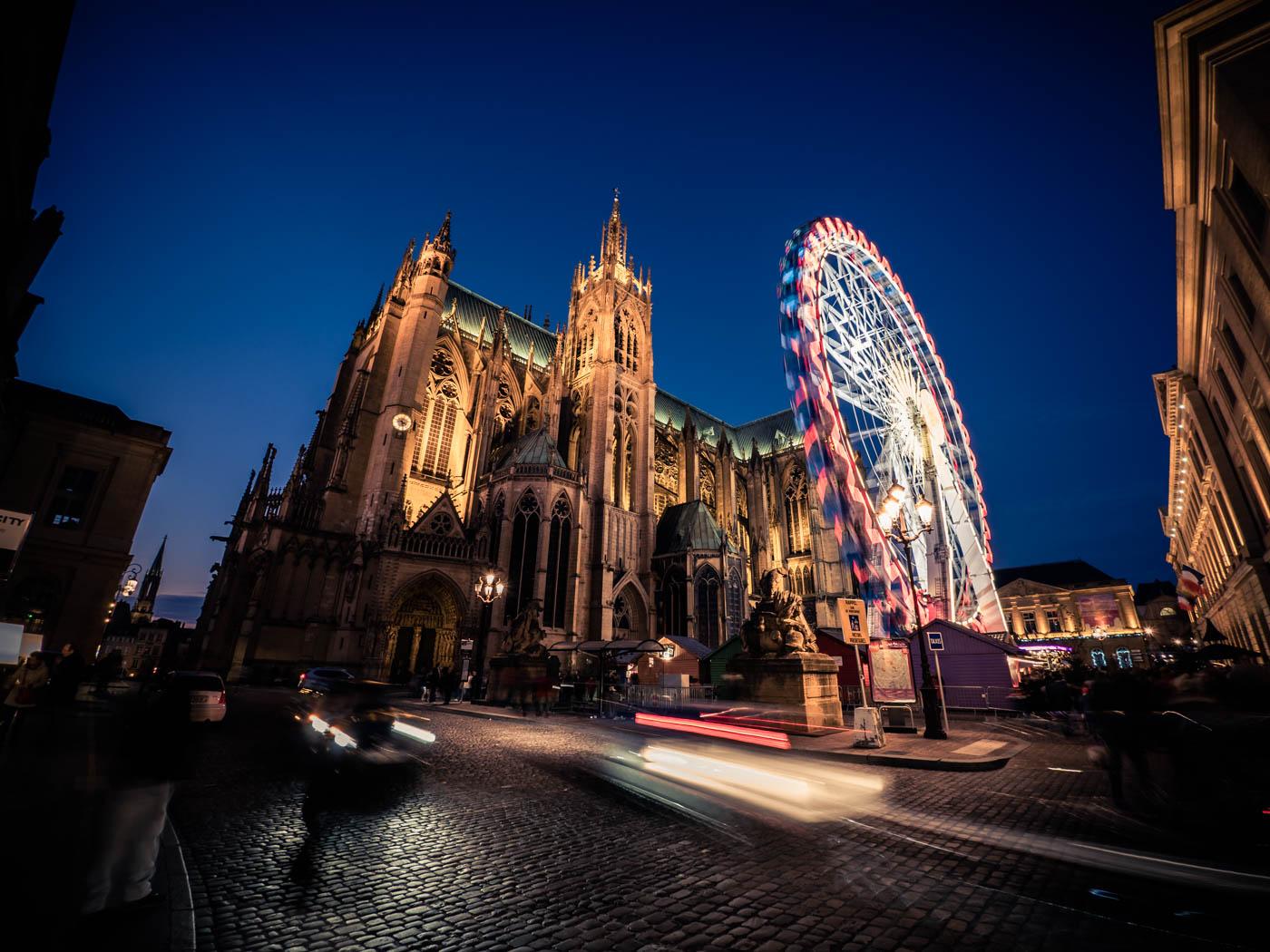 Metz, Weihnachtsmarkt & Riesenrad